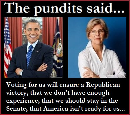 Elizabeth Warren will be the next President