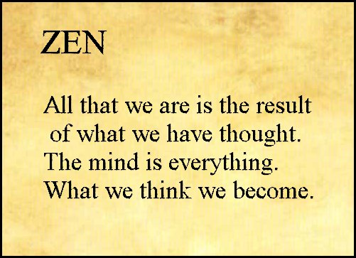 Zen and theart of pursuing the truth